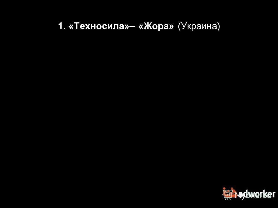 1. «Техносила»– «Жора» (Украина)
