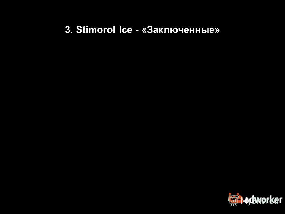 3. Stimorol Ice - «Заключенные»