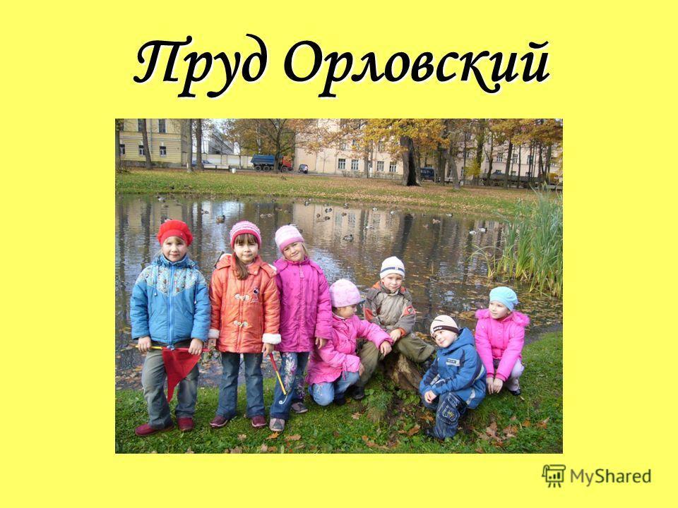 Пруд Орловский