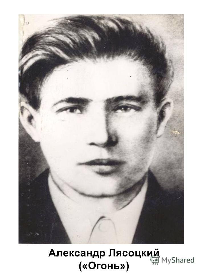 Александр Лясоцкий («Огонь»)