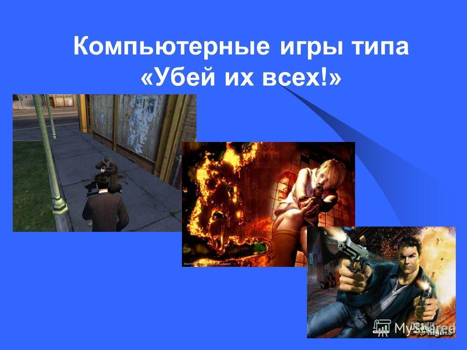 Компьютерные игры типа «Убей их всех!»