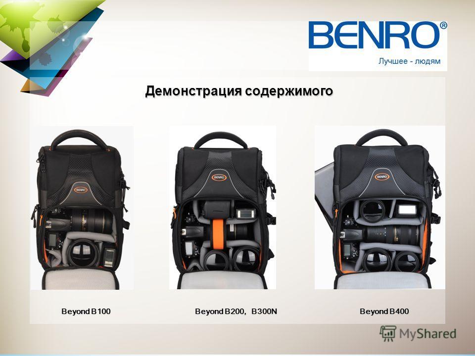 Демонстрация содержимого Beyond B200, B300N Beyond B100 Beyond B400