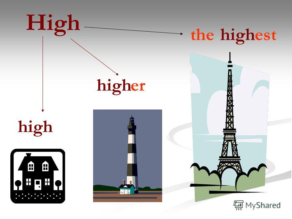 High high er theest