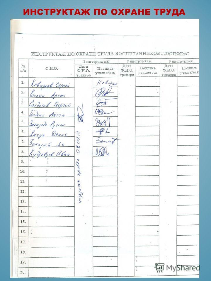Должностная инструкция Инструктора Методиста Спортивной Школы