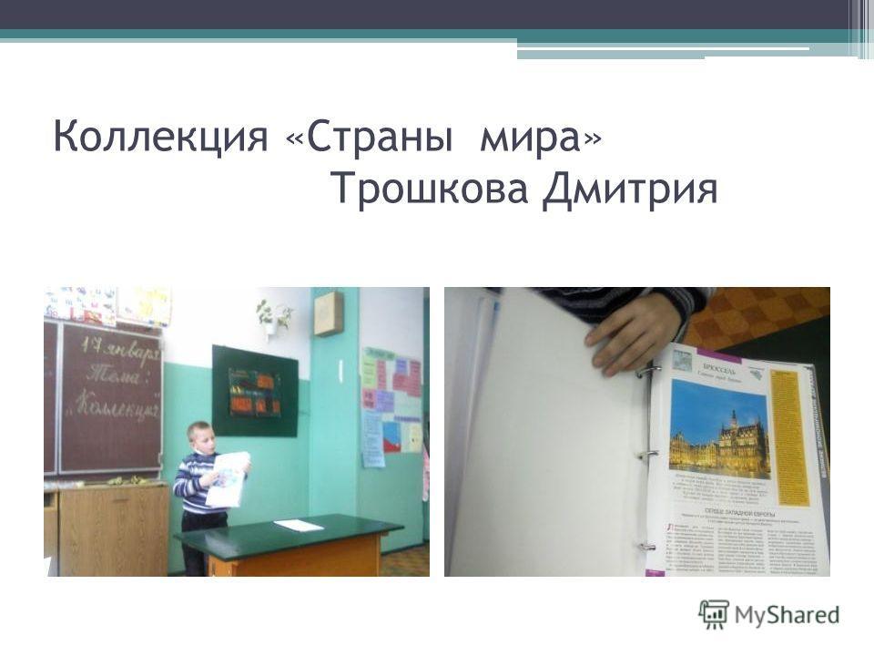 Коллекция «Страны мира» Трошкова Дмитрия