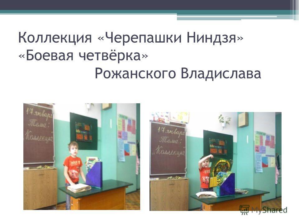 Коллекция «Черепашки Ниндзя» «Боевая четвёрка» Рожанского Владислава