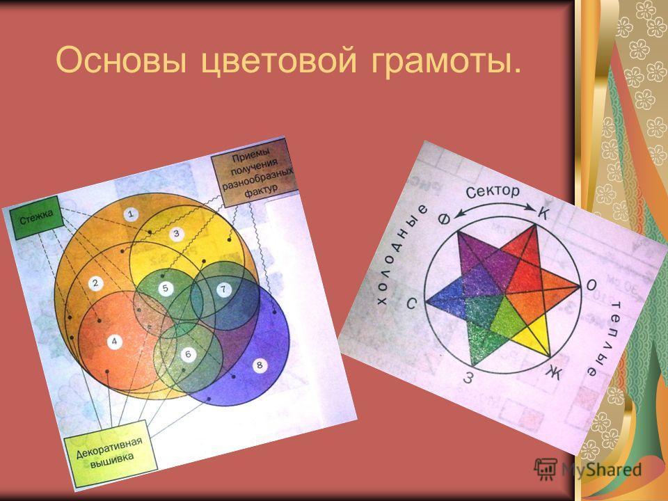 Основы цветовой грамоты.