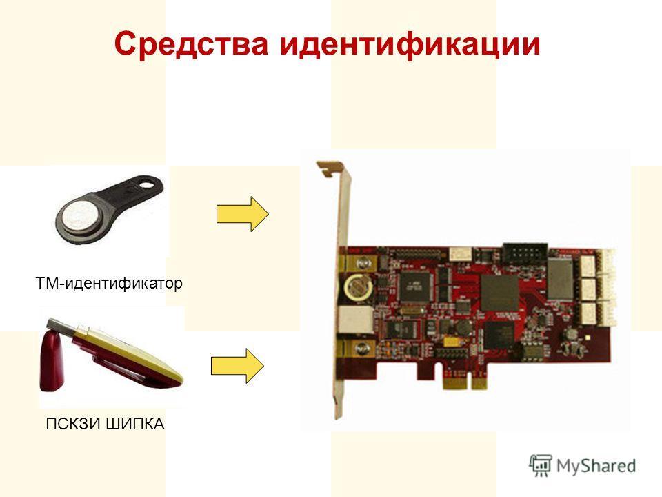 Средства идентификации ТМ-идентификатор ПСКЗИ ШИПКА