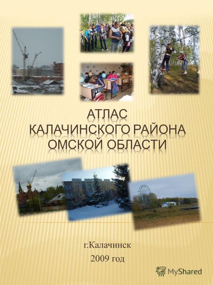 г. Калачинск 2009 год