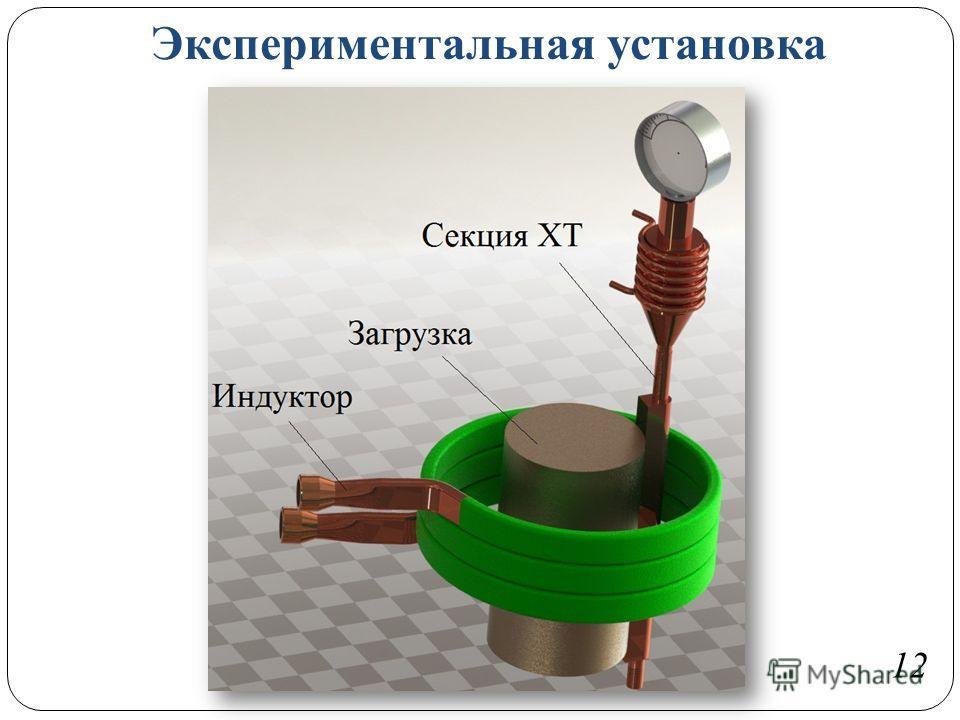 Экспериментальная установка 12