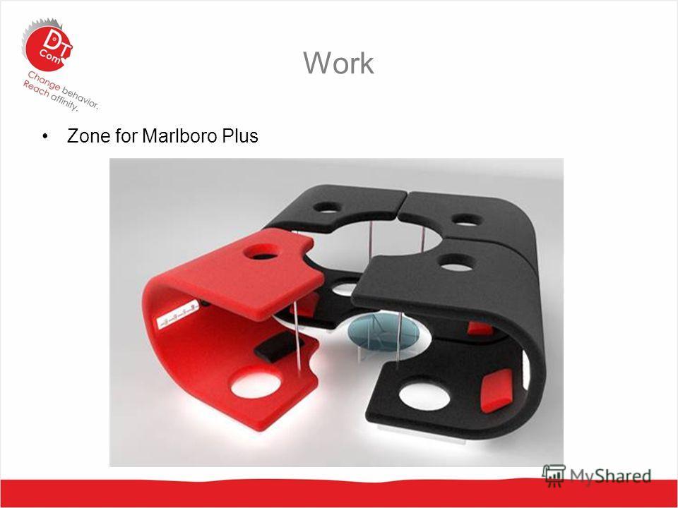 Work Zone for Marlboro Plus