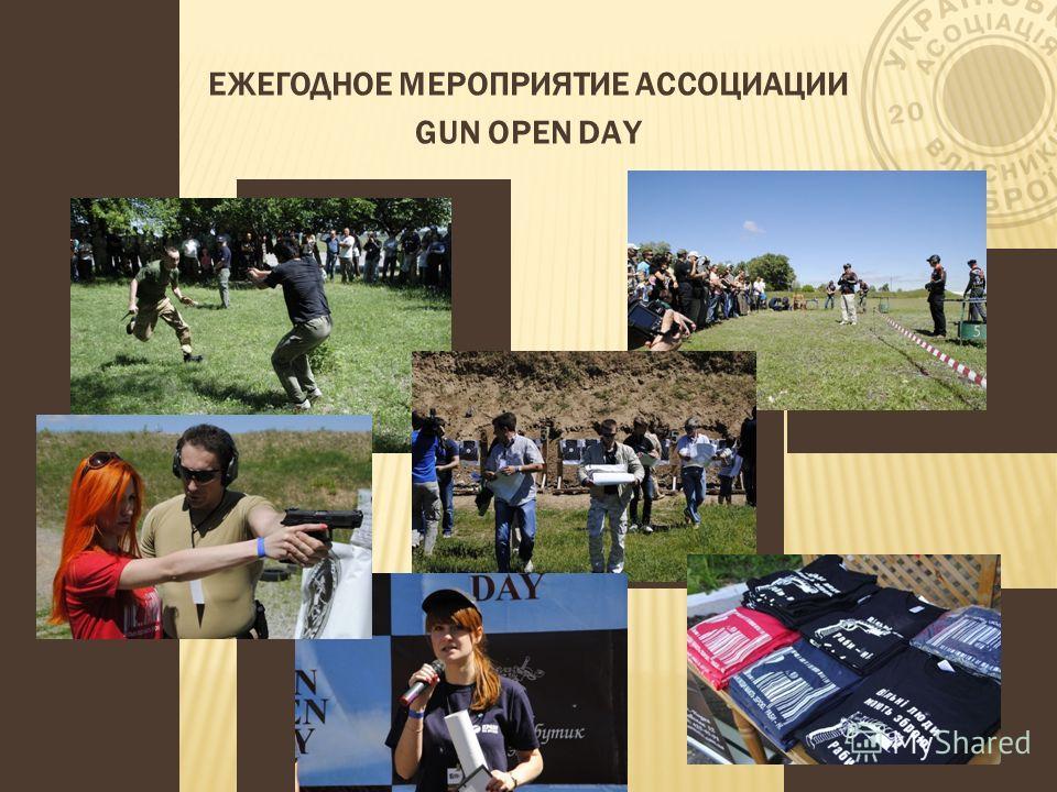 ЕЖЕГОДНОЕ МЕРОПРИЯТИЕ АССОЦИАЦИИ GUN OPEN DAY