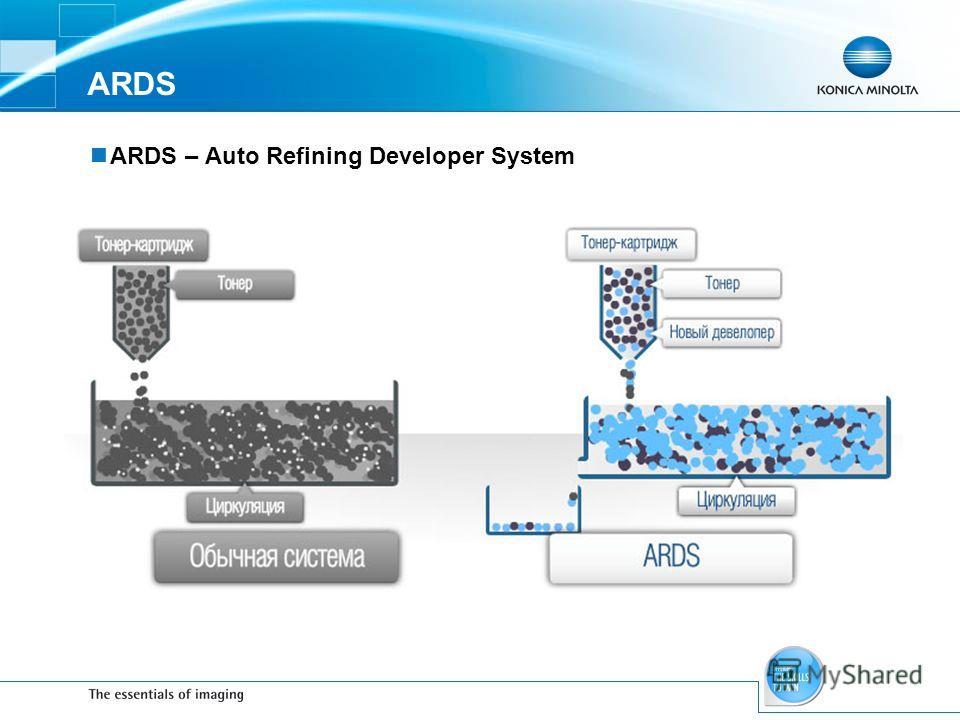 ARDS ARDS – Auto Refining Developer System