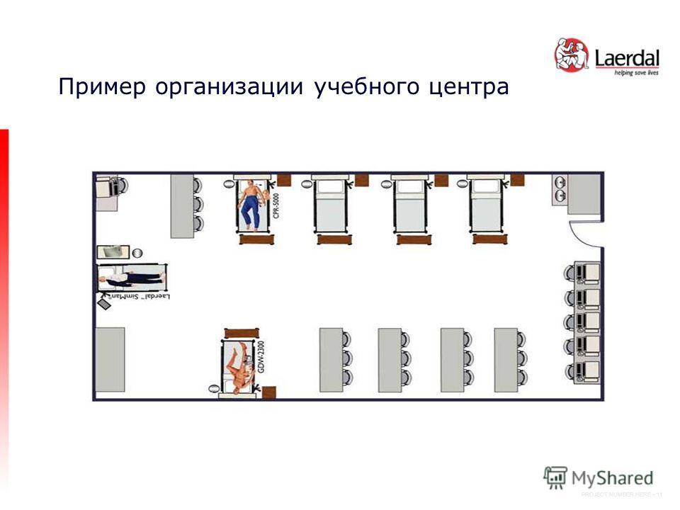 PROJECT NUMBER HERE - 11 Пример организации учебного центра