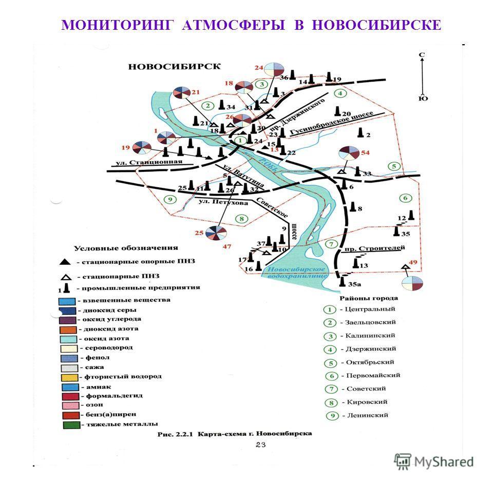 МОНИТОРИНГ АТМОСФЕРЫ В НОВОСИБИРСКЕ