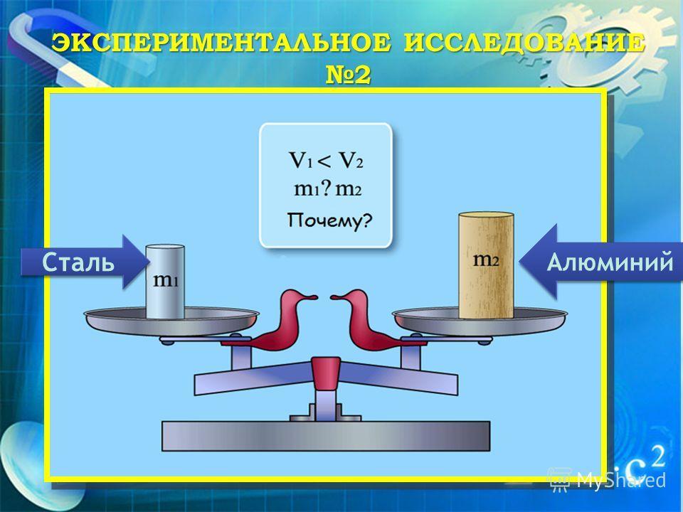 Сталь Алюминий ЭКСПЕРИМЕНТАЛЬНОЕ ИССЛЕДОВАНИЕ 2