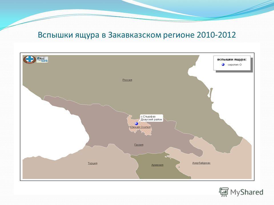 Вспышки ящура в Закавказском регионе 2010-2012