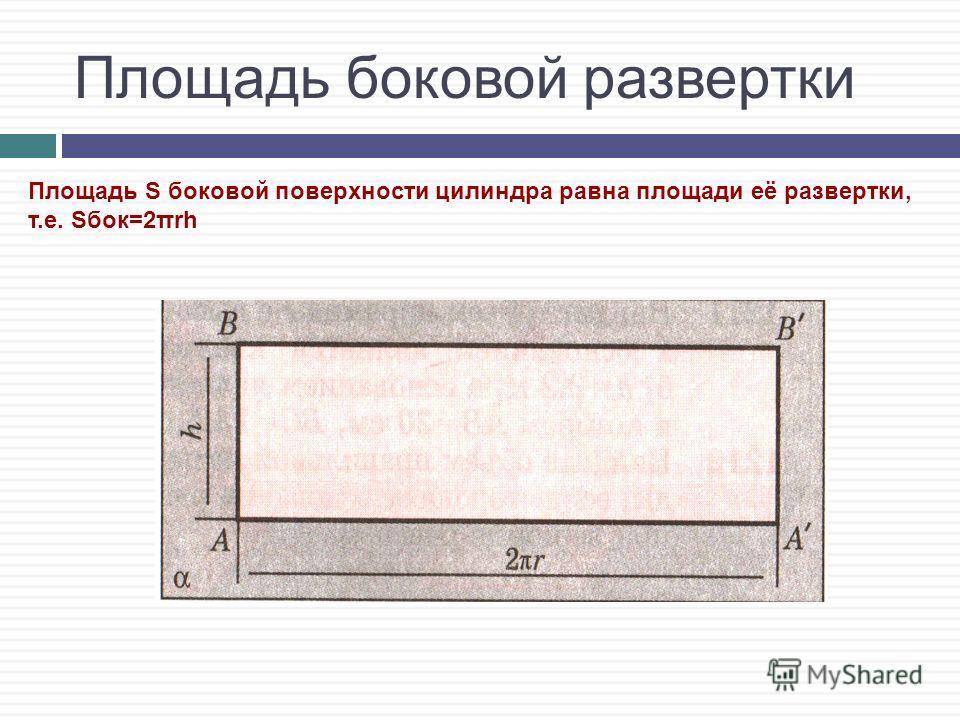 Цилиндр – это тело, ограниченное двумя равными кругами и цилиндрической поверхностью. Цилиндр