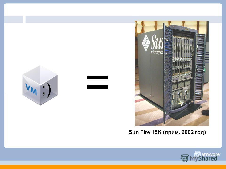Sun Fire 15K (прим. 2002 год) ;) =