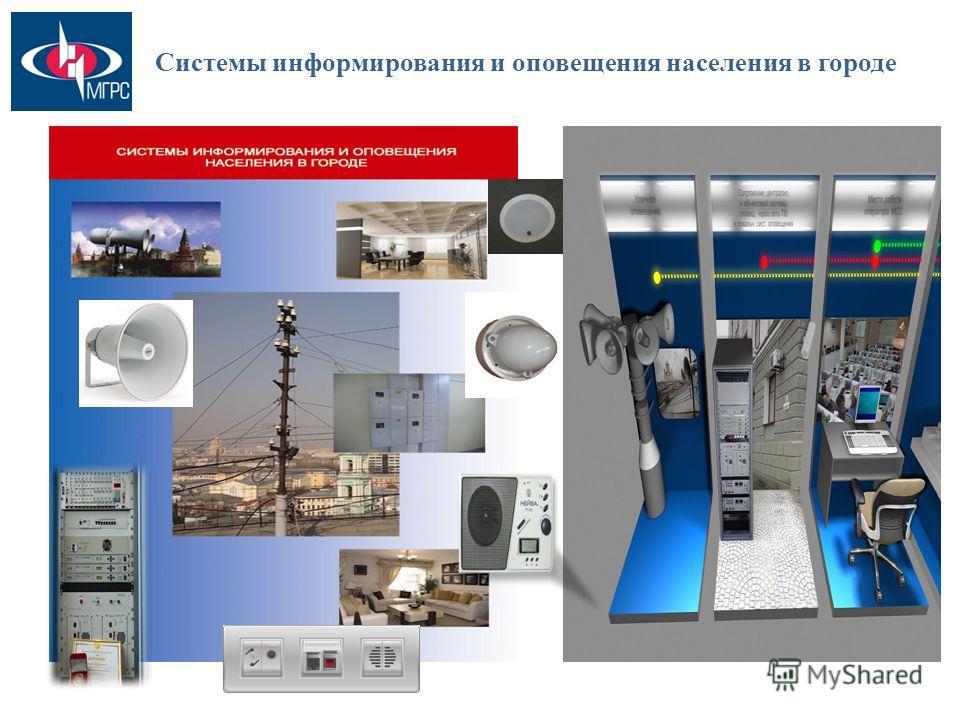 Системы информирования и оповещения населения в городе