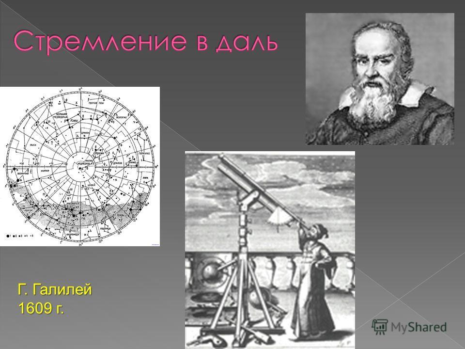 Г. Галилей 1609 г.