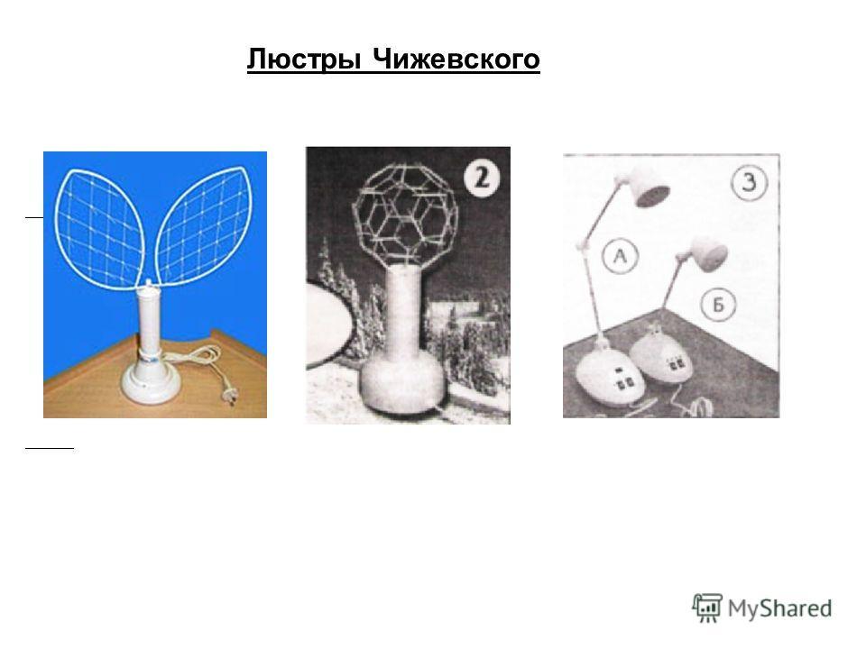 Люстры Чижевского