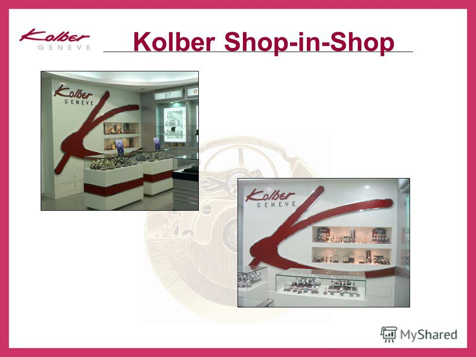 Kolber Shop-in-Shop