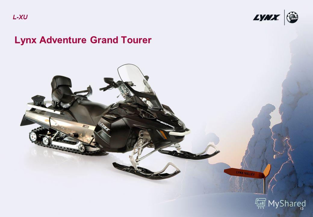 13 Lynx Adventure Grand Tourer L-XU