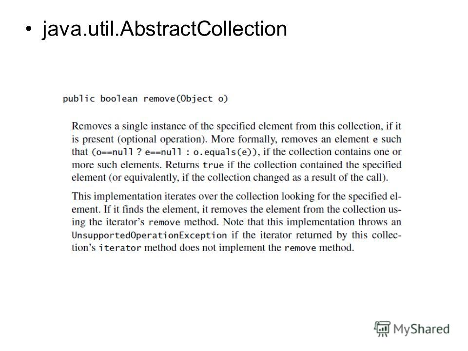 java.util.AbstractCollection