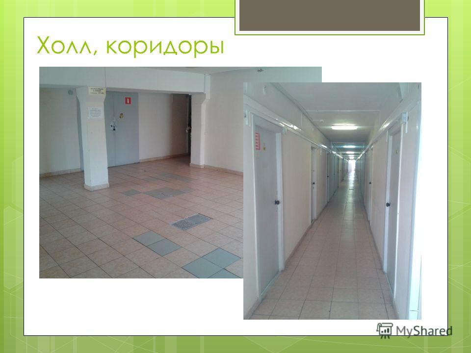 Холл, коридоры