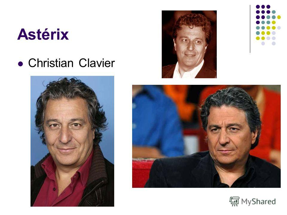 Astérix Christian Clavier