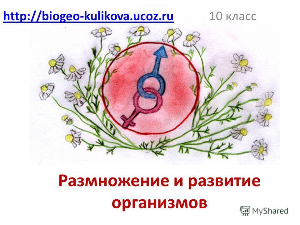 Размножение и развитие организмов 10 классhttp://biogeo-kulikova.ucoz.ru
