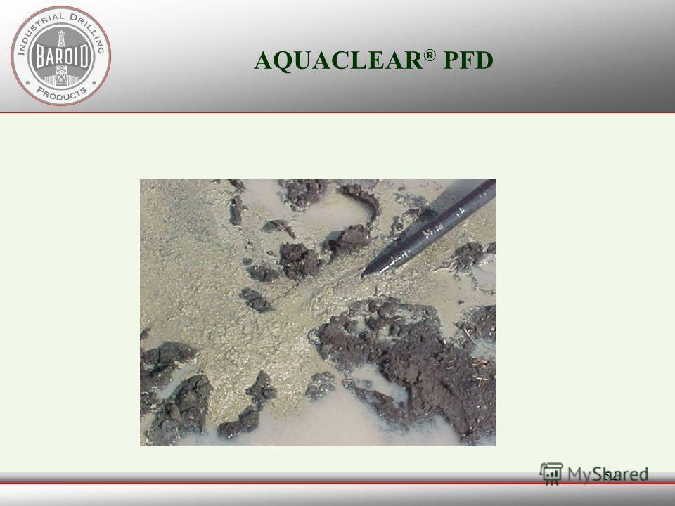 51 AQUACLEAR ® PFD