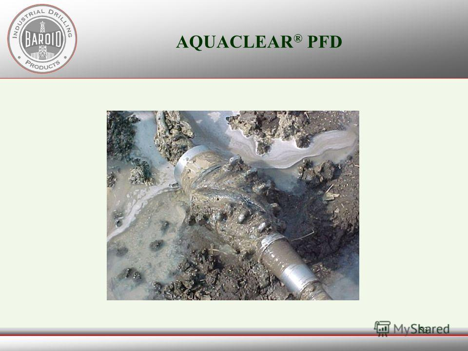 52 AQUACLEAR ® PFD