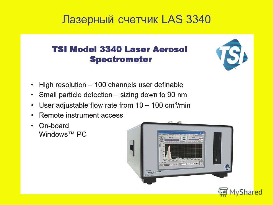 Лазерный счетчик LAS 3340