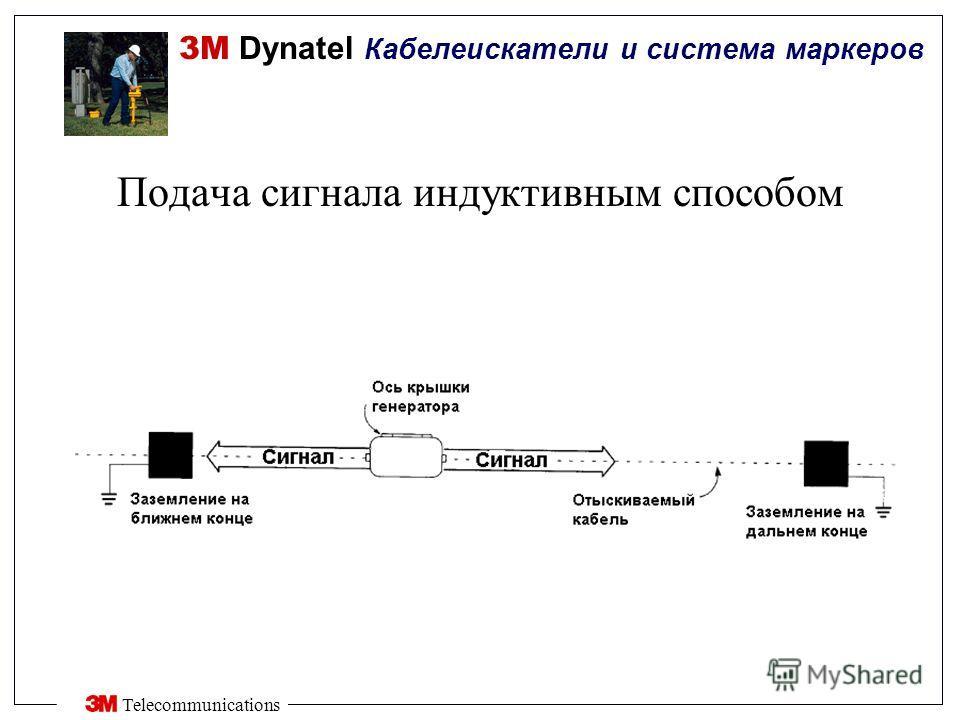 3M Dynatel Кабелеискатели и система маркеров Telecommunications Подача сигнала индуктивным способом