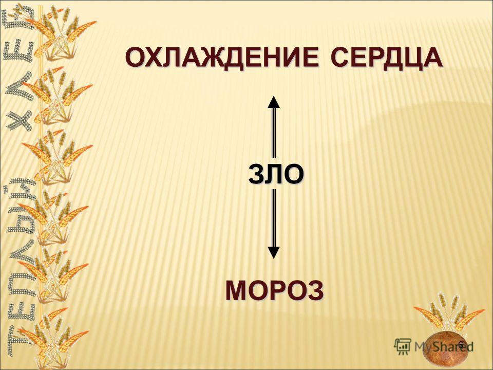 МОРОЗ ОХЛАЖДЕНИЕ СЕРДЦА ЗЛО 6