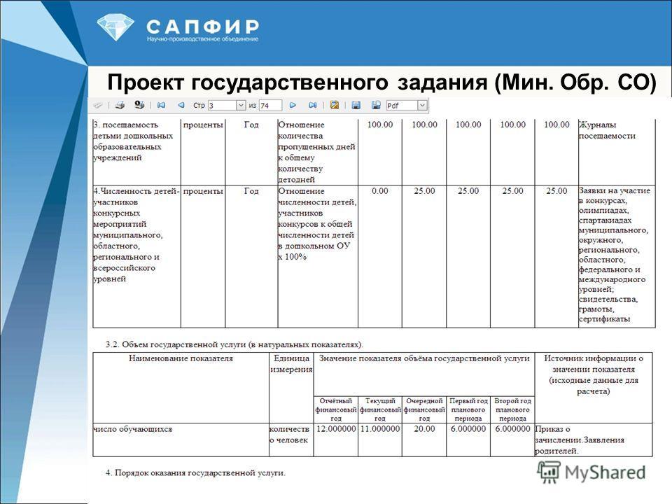 17 Проект государственного задания (Мин. Обр. СО) )