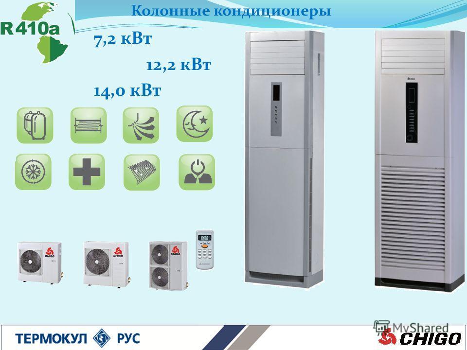 Колонные кондиционеры 7,2 кВт 12,2 кВт 14,0 кВт