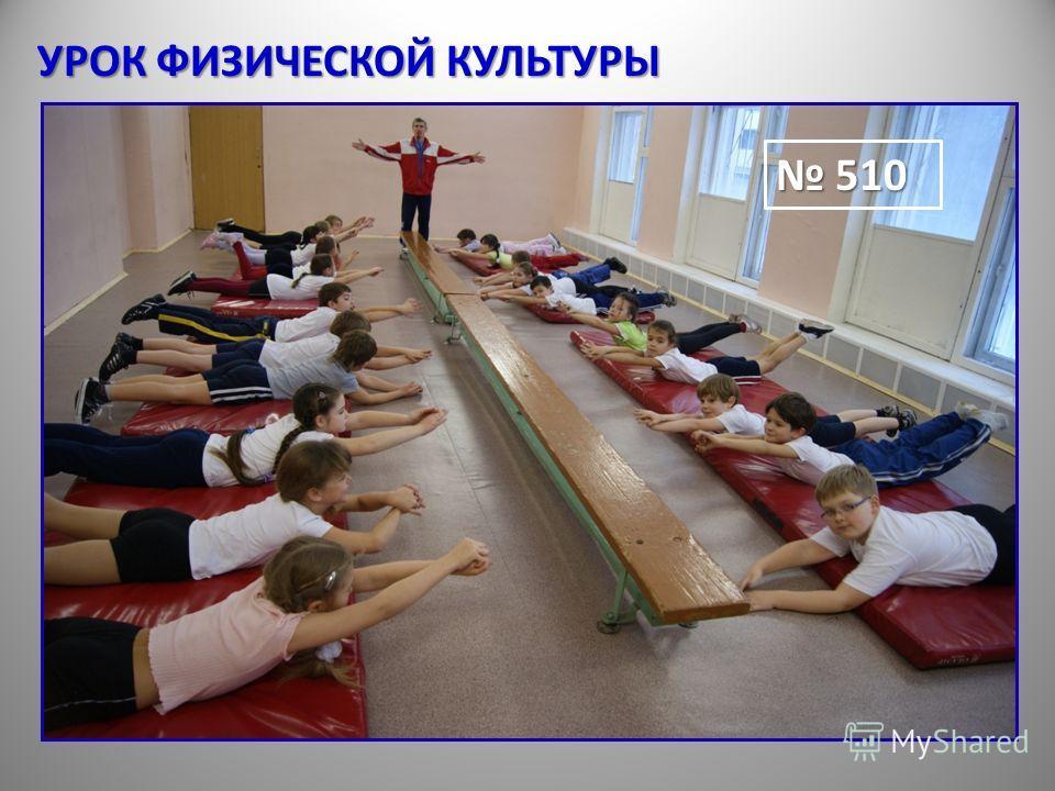 УРОК ФИЗИЧЕСКОЙ КУЛЬТУРЫ 510 510