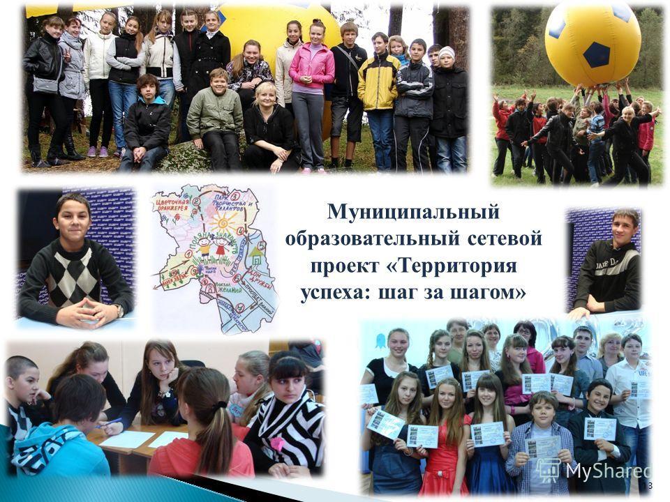 Муниципальный образовательный сетевой проект «Территория успеха: шаг за шагом» 13