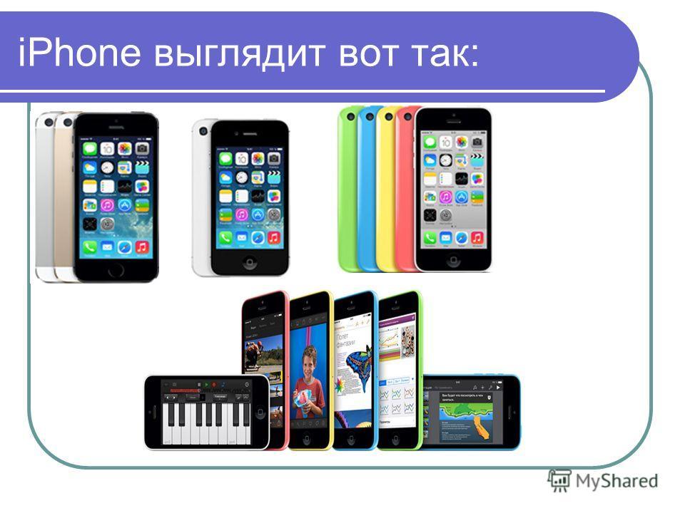 iPhone и все о них Выполнено Салиховой Алины Ученицы 5а класса
