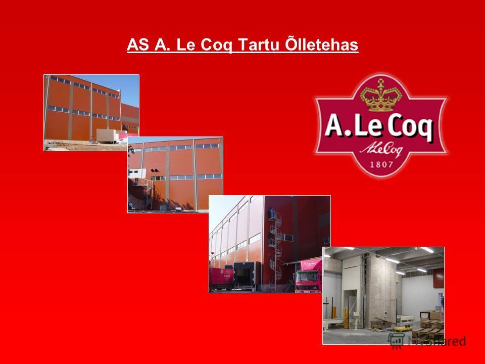 AS A. Le Coq Tartu Õlletehas