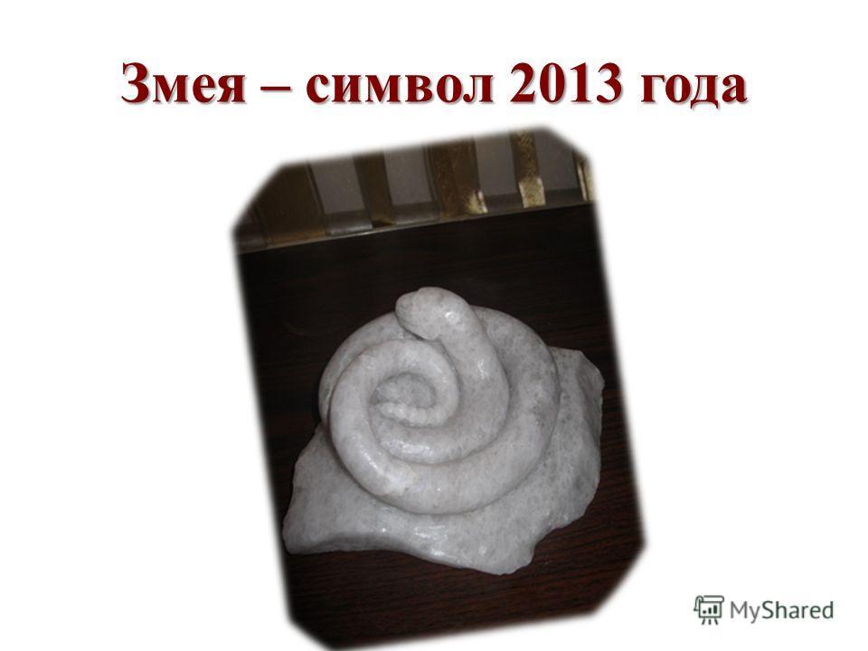 Змея – символ 2013 года