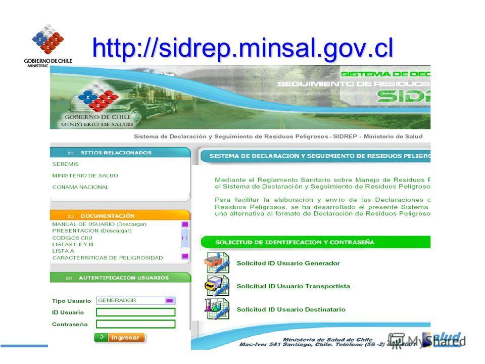 http://sidrep.minsal.gov.cl