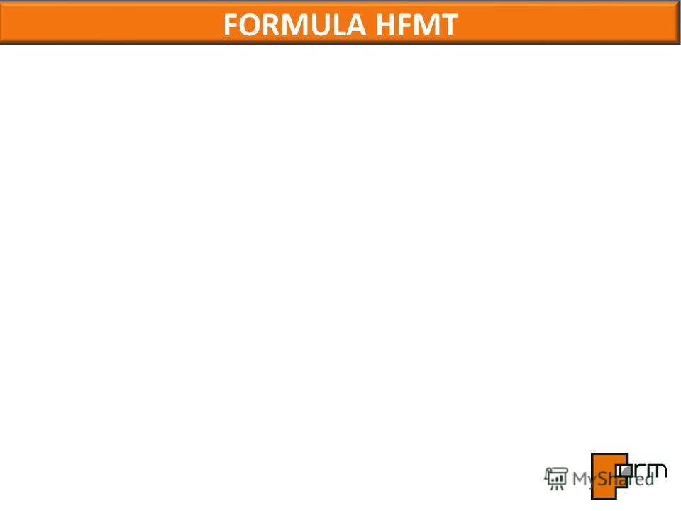 FORMULA HFMT