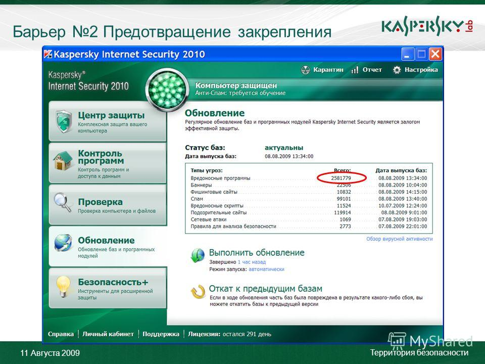 Click to edit Master title style Click to edit Master text styles –Second level Third level –Fourth level »Fifth level June 10 th, 2009Event details (title, place) Барьер 2 Предотвращение закрепления 11 Августа 2009 Территория безопасности
