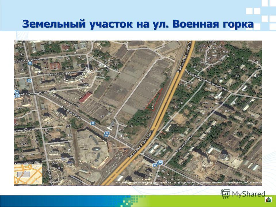 Земельный участок на ул. Военная горка