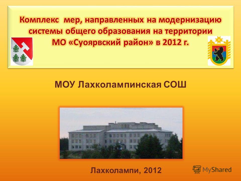 МОУ Лахколампинская СОШ Лахколампи, 2012