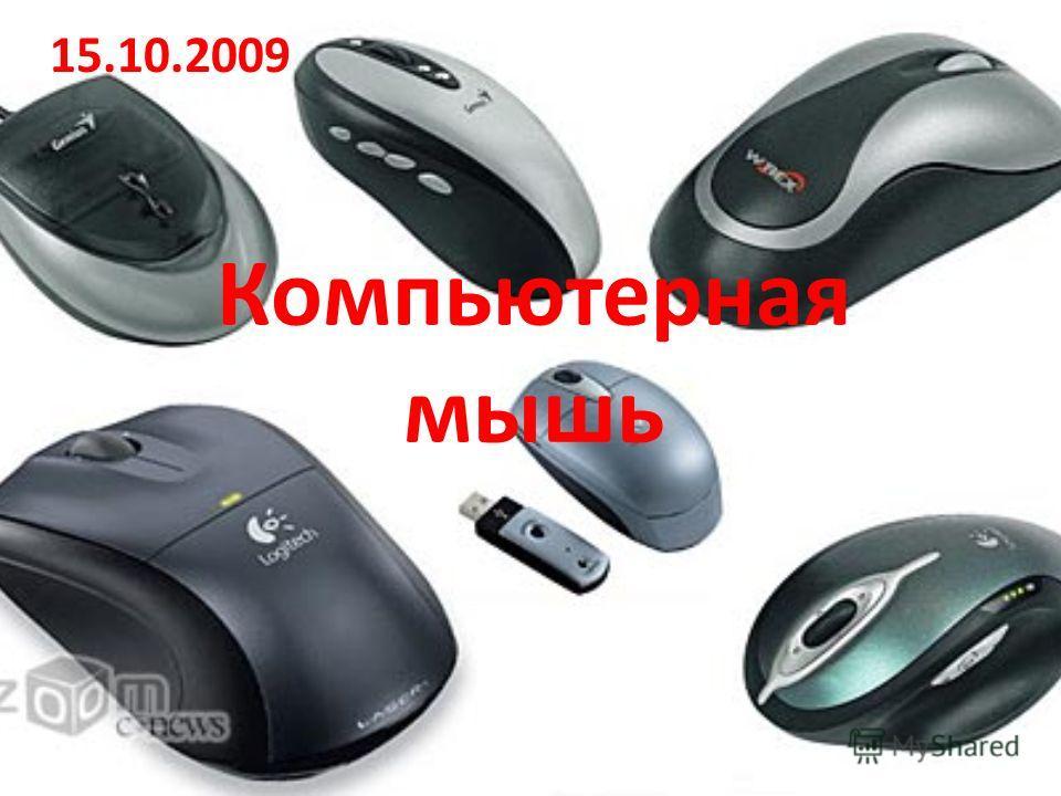 Компьютерная мышь 15.10.2009
